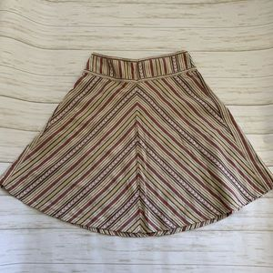 H&M stripe skirt cottagecore 6
